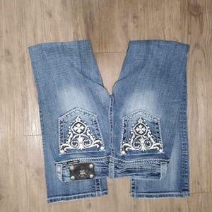 Miss me woman's jeans size 26